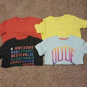 Four Gap Kids T-Shirt Bundle